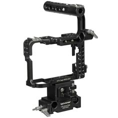 Movcam A7S Cage Kit: The Cage Kit for Sony A7s provides the added protection, stability, and mounting options needed to get your a7S camera ready from video production use.