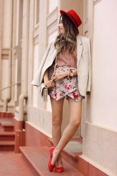 FashionCoolture - 08/03/2016 look du jour floral outfit red accessories (8) waysify