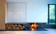 East 20th Modernized Vancouver Special - modern - Living Room - Vancouver - Vision Built Homes