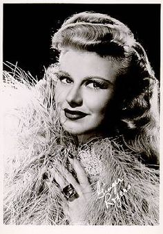 portrait of Ginger Rogers (c.1941).