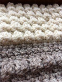 Popcorn stitch crochet (Ellie Mummery)