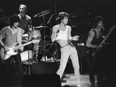 The Rolling Stones - Aberdeen; 1982