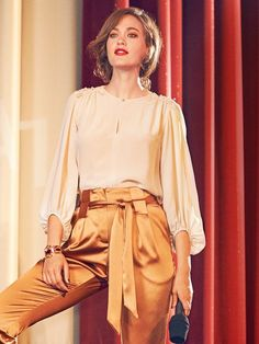 Seventies Style Blouse 01/2016