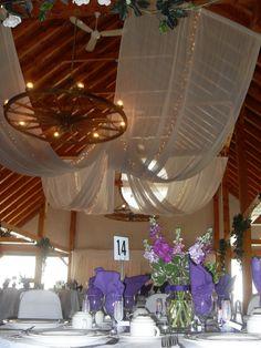 purple spring flowers  at trillium trails banquet & conference centre
