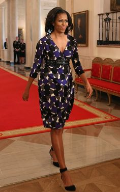 Michelle Obama's Been Hiding This Seasonal Style Secret All Along Ankle Straps Play Up a Leggy Look Before You Finally Have to Wear Tights
