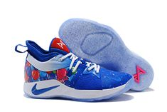 "super popular 683b3 3bb9e 2018 Paul George Nike PG 2 ""Celebrate Birthday"" Blue Multi-Color Nike"