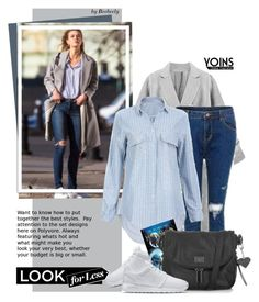 """""""Yoins: Celebrity Street Style For Less"""" by beebeely-look ❤ liked on Polyvore featuring NIKE, Topshop, women's clothing, women, female, woman, misses and juniors"""