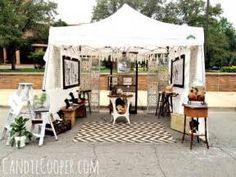 How to Set Up an Art Fair Tent - Candie Cooper