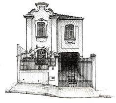 Mostra Antes que Acabe no Museu da Casa Brasileira reúne desenhos que resgatam a memória arquitetônica da cidade de São Paulo;
