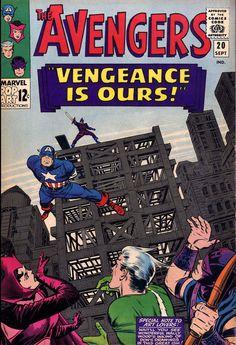 The Avengers #20 (Marvel Comics - September 1965) Illustrators:...