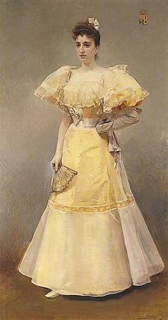 Condesa de Santiago 1894 Joaquin Sorollo y Bastida