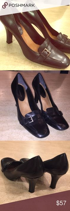 Enzo Angiolini Leather shoes with EA Flexo sole Comfortable leather heels. 3 inch heel Enzo Angiolini Shoes Heels