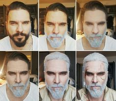 Transforming into Geralt