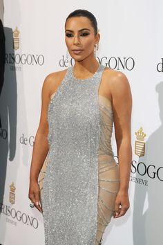Kim Kardashian attends the De Grisogono Party at the annual 69th Cannes Film Festival.