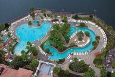 Wyndham at Bonnet Creek Orlando Vacation, Orlando Resorts, Vacation Resorts, Beach Resorts, Orlando Florida, Wyndham Bonnet Creek Orlando, Lake Buena Vista, Florida Travel, Queen