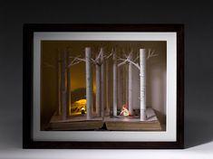 #book #sculpture #Su_Blackwell
