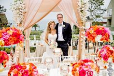 Sneak Peak: {Bright and Fresh Coral and Peach Jewish Wedding} L'Auberge Del Mar | Emily Smiley: Fine Weddings and Soirees