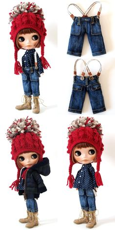 ** Blythe outfit ** Lucalily 279** : mahounote.