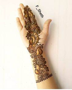 40 Latest Eid Mehndi designs to try in 2019 – Henna 2020 Eid Mehndi Designs, Simple Arabic Mehndi Designs, Mehndi Designs For Girls, Henna Art Designs, Mehndi Designs For Fingers, Mehndi Design Photos, Wedding Mehndi Designs, Latest Mehndi Designs, Full Hand Mehndi Designs