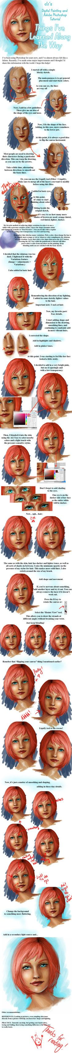 Character Design Digital Painting Tutorial : Images about character anatomy skin on pinterest