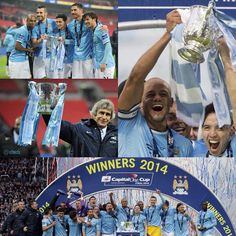 Winners 2014 Capital One Cup Manchester City #mcfc #manchester #city