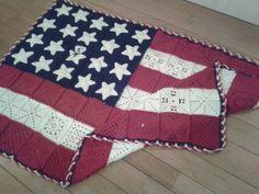 Deken amerikaanse vlag