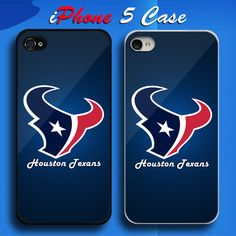 Houston Texans NFL Team Logo Custom iPhone 5 Case Cover