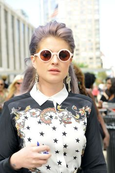 Kelly Osbourne - Kelly Osbourne takes time out of her busy schedule to attend a New York Fashion Week show with her boyfriend, Matthew Mosshart
