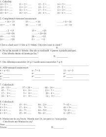 EDUCATIA CONTEAZA : ADUNARI SI SCADERI (0-1 000 000) - CU SI FARA TRECERE PESTE ORDIN / EXERCITII / PROBLEME / INMULTIRI SI IMPARTIRI / UNITATI DE MASURA / FIGURI GEOMETRICE Personalized Items, Geometry