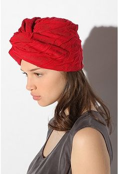 i feel like i could rock this... although i never see girls in short hair rocking the #turban.  thoughts??