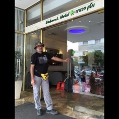 #TravelAdvnturer Ajay Sood is At Deborah Hotel, Tel Aviv. #GYDLive #GrabYourDream #travel #adventure #traveller #adventure #wanderlust #Israel #explore