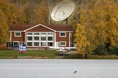 "Here today gone tomorrow  ""that hopey-changey stuff"".  Sarah #Palin's corporate perk. #Wasilla #Alaska"