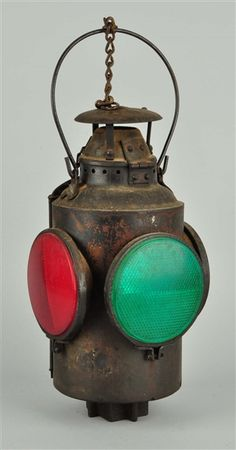 Lot Detail - Large Railroad Lantern.