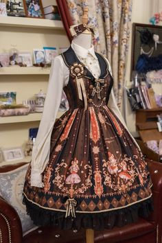 #Leftovers: 【Hamster Princess's Knight Dream】 Lolita Collar JSK