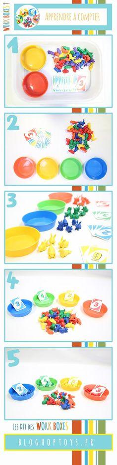 Montessori Kindergarten, Montessori Classroom, 4 Kids, Diy For Kids, Educational Activities, Activities For Kids, Act Math, Numbers Preschool, Primary Maths