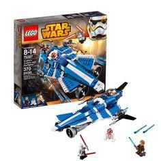 Amazon.com: Lego Star Wars 75087 Anakins Custom Jedi Starfighter: Toys & Games