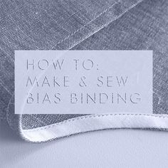I LOVE BIAS BINDING!    There, I said it...I love bias binding and yes all caps that's how much I love it ;)      Why am i in love with bias binding?   It's an elegant finish suitable for a lot of pro