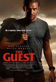 The Guest-(2014)-Dan Stevens,Sheila Kelley, Maika Monroe, Leland Orser, Brendan Meyer, and Lance Reddick.  Good movie.  Creepy and suspenseful