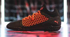 Puma just launched an all-new street football boot, the Puma 365 Ignite Netfit.