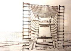7 - Studio Gregotti (Bicocca sede Pirelli) Stairs, Studio, Home Decor, Ladders, Homemade Home Decor, Stairway, Staircases, Decoration Home, Stairways