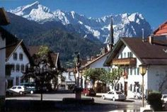 Garmisch-Partenkirchen, Germany -- April swears it's one of the most amazing places on earth.  She bought a cuckoo clock there and shipped it home to Canada.