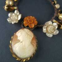 handmade vintage jewellery recycled from vintage and antique jewellery