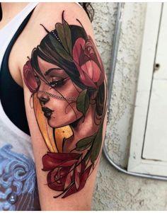 Old Tattoos, Cute Tattoos, Body Art Tattoos, Tattoo Drawings, Sleeve Tattoos, Traditional Tattoo Sketches, Neo Traditional Tattoo, Creative Tattoos, Unique Tattoos