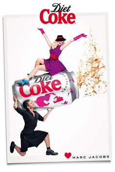Marc Jacobs for Diet Coke 30 anniversary in Europe