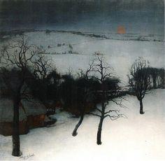 Valerius De Saedeleer - Winter in Flanders