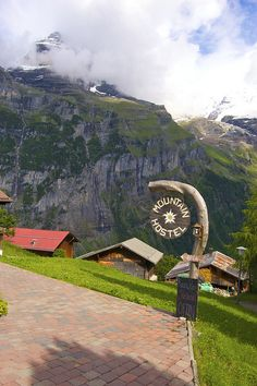Gimmelwald, Canton of Berne, Switzerland--I stayed at this awesome hostel. Waaaay back when.