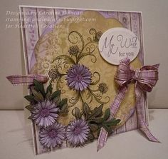 Heartfelt Creations | Delicate Asters Circle