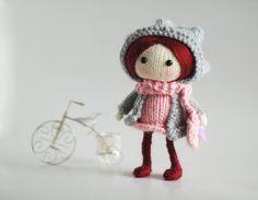 Ruby. The Doll  pdf knitting pattern by deniza17 on Etsy, $7.00