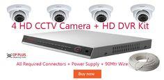 "4CP PLUS HD CCTV Cameras     1/2.9"" 1MP HQIS Pro,25/30fps@720P,Day/Night(ICR), AWB, AGC, BLC, 3D-DNR,IR Range of 20 M, Smart IR,High speed, long distance real-time transmission,IP66"