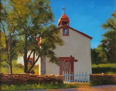 AVAILABLE I Canyoncito I 11x14 I Dix Baines I Fine Artist Original Oil Paintings I Southwest Churches I Southwest Paintings I www.dixbaines.com (scheduled via http://www.tailwindapp.com?utm_source=pinterest&utm_medium=twpin&utm_content=post61476910&utm_campaign=scheduler_attribution)